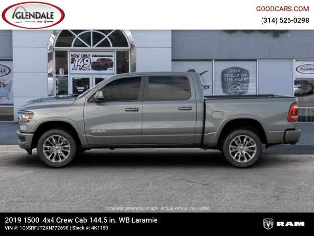 2019 Ram 1500 Crew Cab 4x4,  Pickup #4K1158 - photo 5