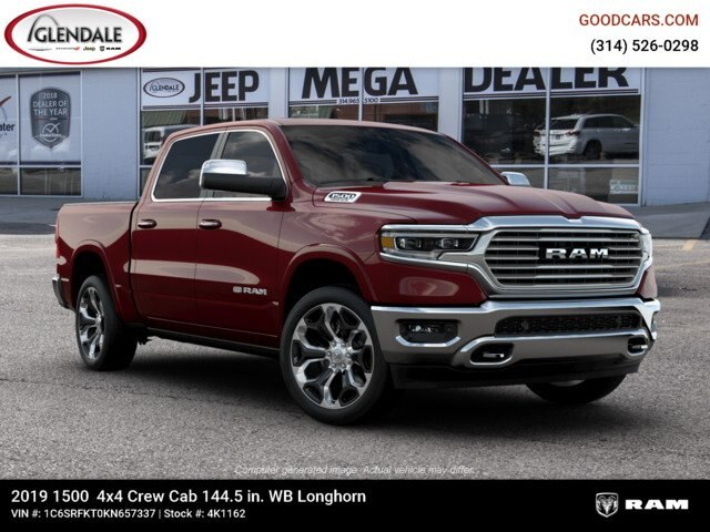 2019 Ram 1500 Crew Cab 4x4,  Pickup #4K1162 - photo 11
