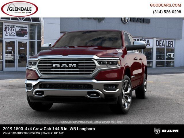 2019 Ram 1500 Crew Cab 4x4,  Pickup #4K1162 - photo 4