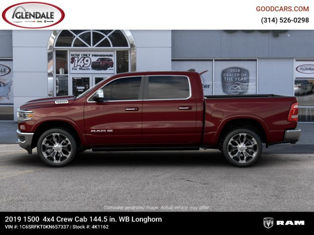2019 Ram 1500 Crew Cab 4x4,  Pickup #4K1162 - photo 5