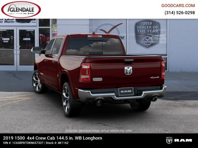 2019 Ram 1500 Crew Cab 4x4,  Pickup #4K1162 - photo 6