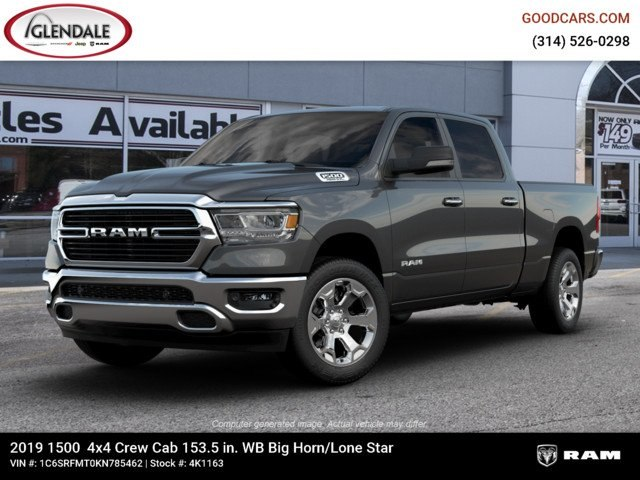 2019 Ram 1500 Crew Cab 4x4,  Pickup #4K1163 - photo 1