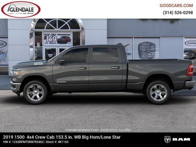 2019 Ram 1500 Crew Cab 4x4,  Pickup #4K1163 - photo 5