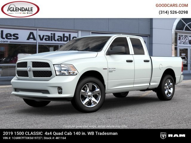 2019 Ram 1500 Quad Cab 4x4,  Pickup #4K1164 - photo 1