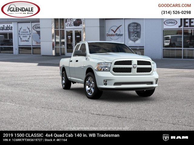 2019 Ram 1500 Quad Cab 4x4,  Pickup #4K1164 - photo 12