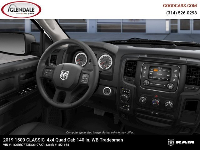 2019 Ram 1500 Quad Cab 4x4,  Pickup #4K1164 - photo 14