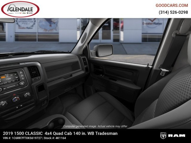 2019 Ram 1500 Quad Cab 4x4,  Pickup #4K1164 - photo 17