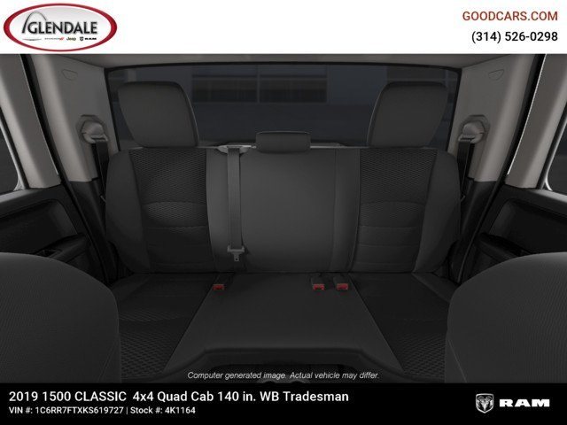 2019 Ram 1500 Quad Cab 4x4,  Pickup #4K1164 - photo 19