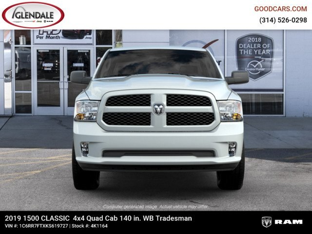 2019 Ram 1500 Quad Cab 4x4,  Pickup #4K1164 - photo 3