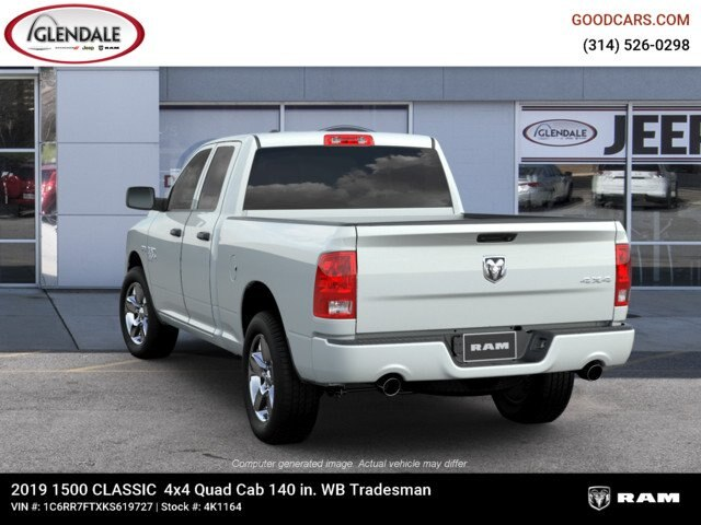 2019 Ram 1500 Quad Cab 4x4,  Pickup #4K1164 - photo 6