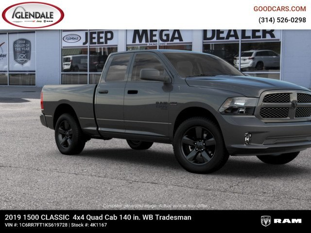 2019 Ram 1500 Quad Cab 4x4,  Pickup #4K1167 - photo 11