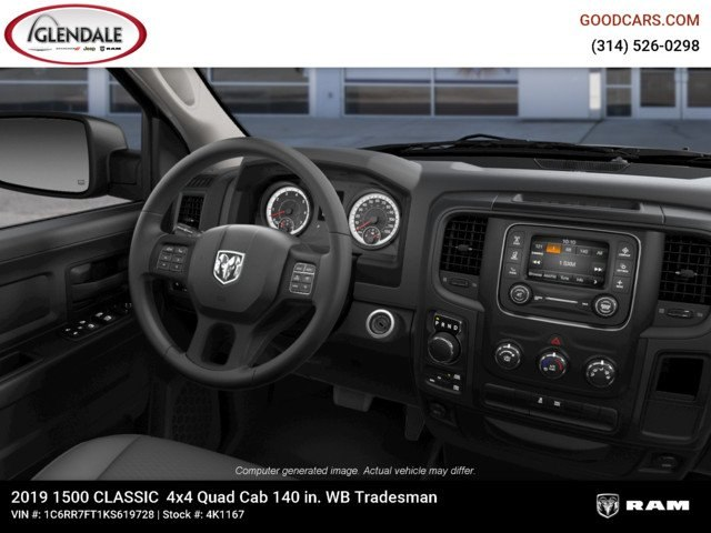 2019 Ram 1500 Quad Cab 4x4,  Pickup #4K1167 - photo 14