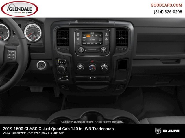 2019 Ram 1500 Quad Cab 4x4,  Pickup #4K1167 - photo 15
