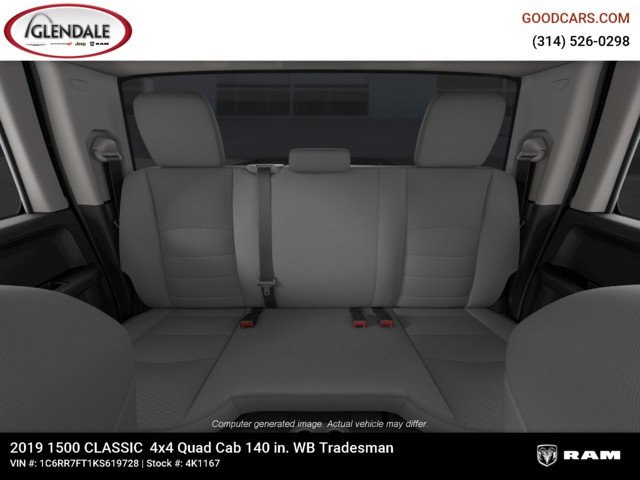 2019 Ram 1500 Quad Cab 4x4,  Pickup #4K1167 - photo 19