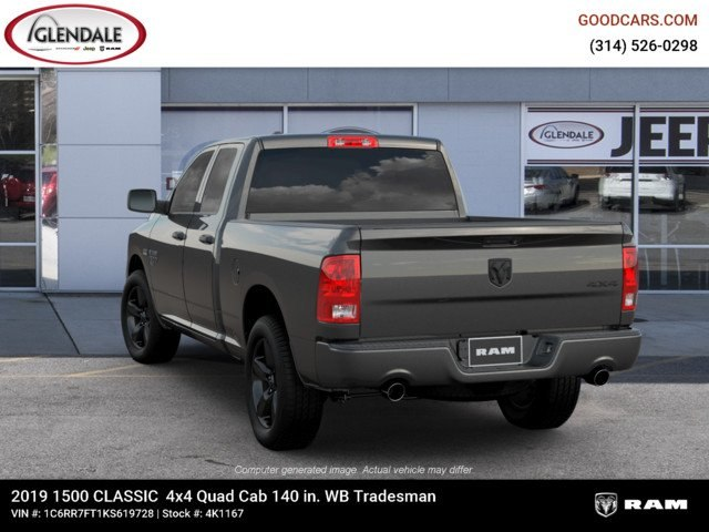 2019 Ram 1500 Quad Cab 4x4,  Pickup #4K1167 - photo 6
