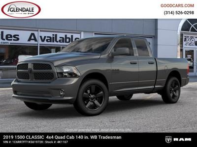 2019 Ram 1500 Quad Cab 4x4,  Pickup #4K1167 - photo 1