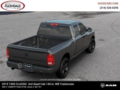 2019 Ram 1500 Quad Cab 4x4,  Pickup #4K1167 - photo 8
