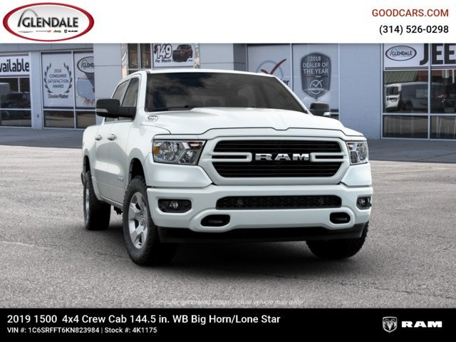 2019 Ram 1500 Crew Cab 4x4,  Pickup #4K1175 - photo 12