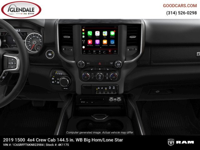 2019 Ram 1500 Crew Cab 4x4,  Pickup #4K1175 - photo 15