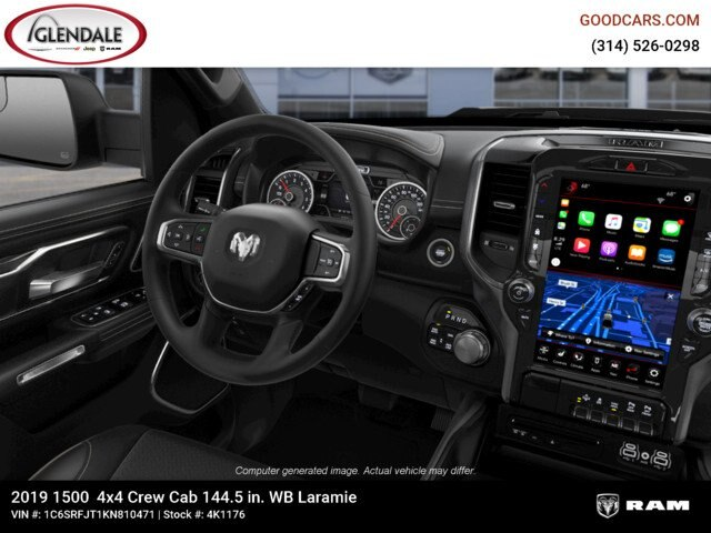 2019 Ram 1500 Crew Cab 4x4,  Pickup #4K1176 - photo 16
