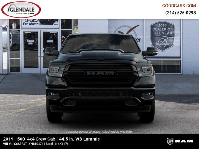 2019 Ram 1500 Crew Cab 4x4,  Pickup #4K1176 - photo 1