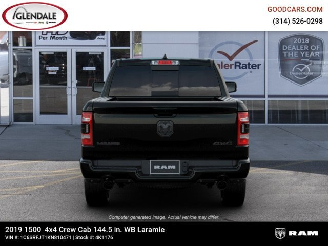 2019 Ram 1500 Crew Cab 4x4,  Pickup #4K1176 - photo 7