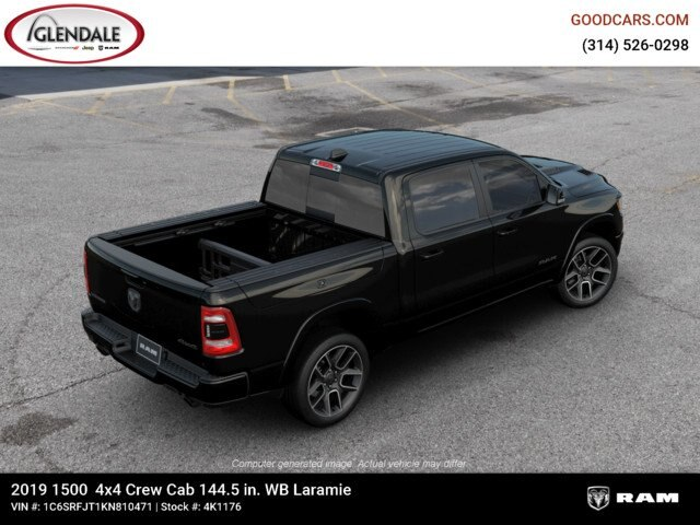 2019 Ram 1500 Crew Cab 4x4,  Pickup #4K1176 - photo 9