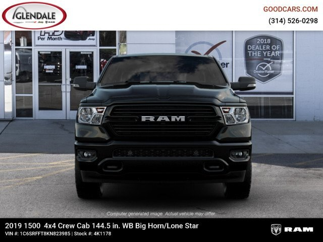 2019 Ram 1500 Crew Cab 4x4,  Pickup #4K1178 - photo 12