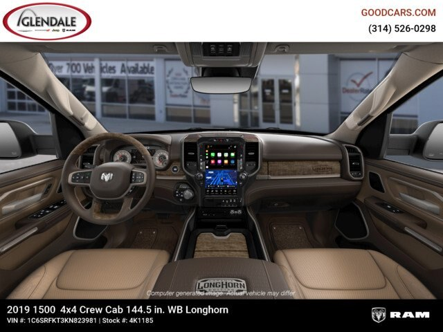 2019 Ram 1500 Crew Cab 4x4,  Pickup #4K1185 - photo 13