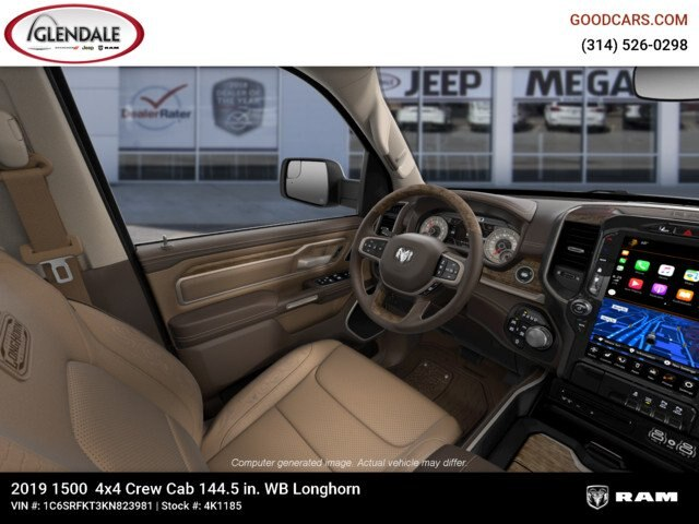 2019 Ram 1500 Crew Cab 4x4,  Pickup #4K1185 - photo 18