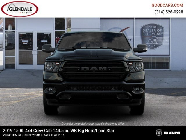 2019 Ram 1500 Crew Cab 4x4,  Pickup #4K1187 - photo 2