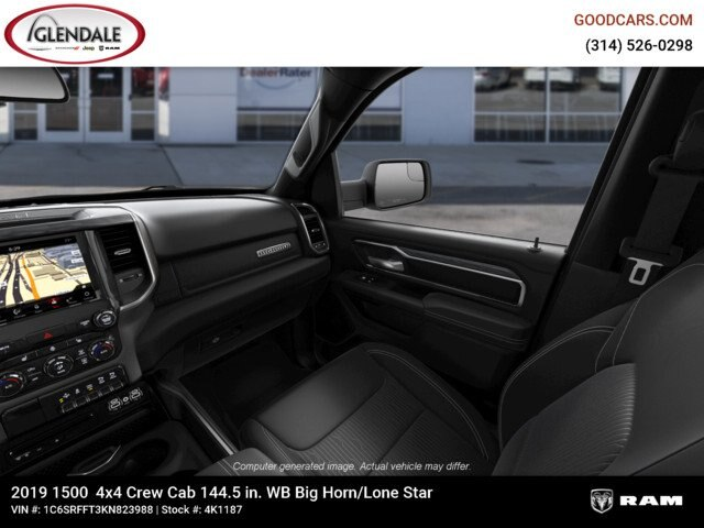 2019 Ram 1500 Crew Cab 4x4,  Pickup #4K1187 - photo 15