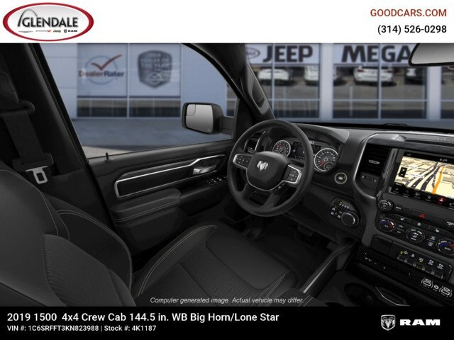 2019 Ram 1500 Crew Cab 4x4,  Pickup #4K1187 - photo 16