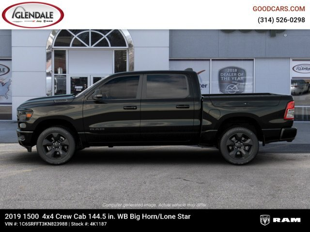 2019 Ram 1500 Crew Cab 4x4,  Pickup #4K1187 - photo 3