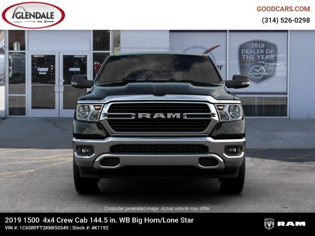 2019 Ram 1500 Crew Cab 4x4,  Pickup #4K1192 - photo 1