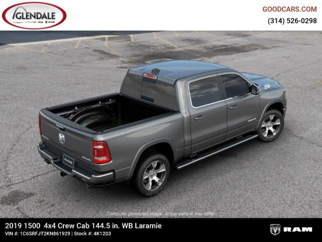 2019 Ram 1500 Crew Cab 4x4,  Pickup #4K1203 - photo 1
