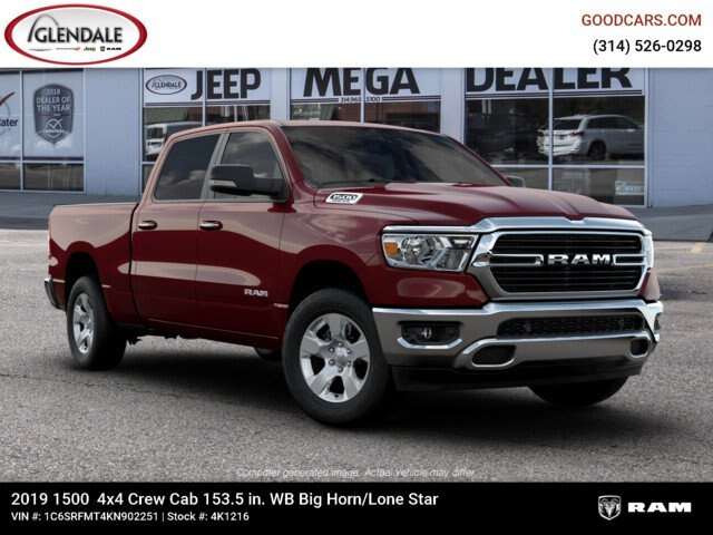 2019 Ram 1500 Crew Cab 4x4,  Pickup #4K1216 - photo 11