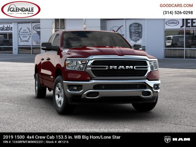 2019 Ram 1500 Crew Cab 4x4,  Pickup #4K1216 - photo 12