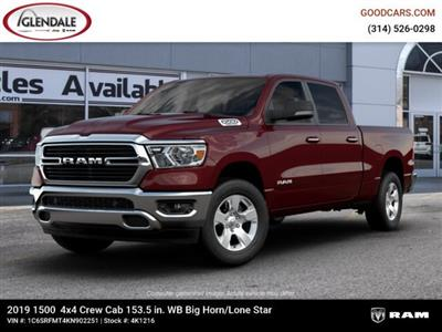 2019 Ram 1500 Crew Cab 4x4,  Pickup #4K1216 - photo 1