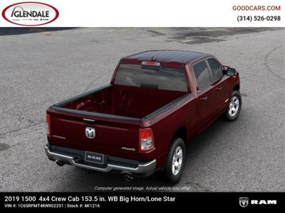 2019 Ram 1500 Crew Cab 4x4,  Pickup #4K1216 - photo 8