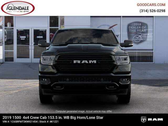 2019 Ram 1500 Crew Cab 4x4,  Pickup #4K1221 - photo 3