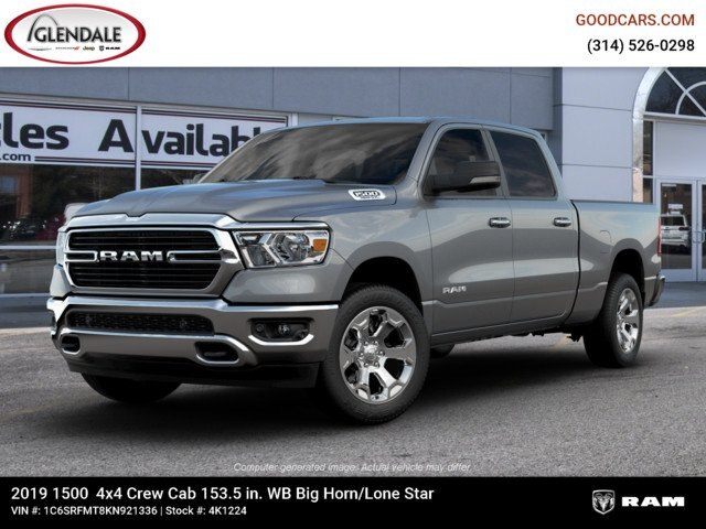 2019 Ram 1500 Crew Cab 4x4,  Pickup #4K1224 - photo 1