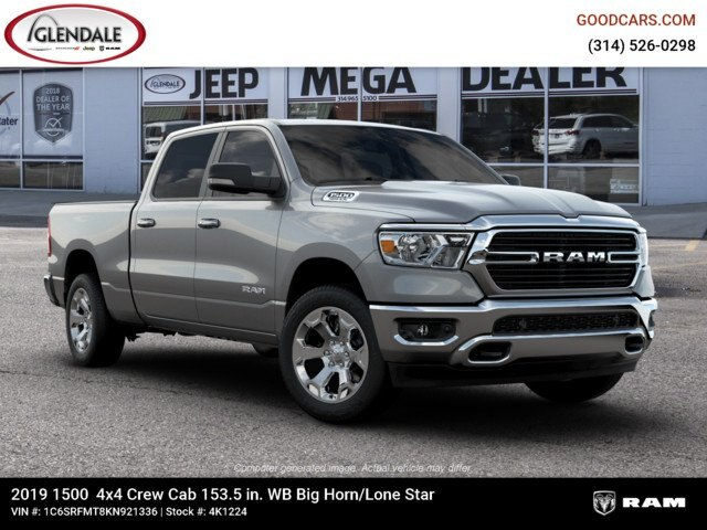 2019 Ram 1500 Crew Cab 4x4,  Pickup #4K1224 - photo 11