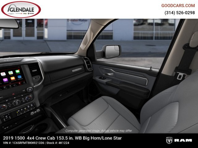 2019 Ram 1500 Crew Cab 4x4,  Pickup #4K1224 - photo 17