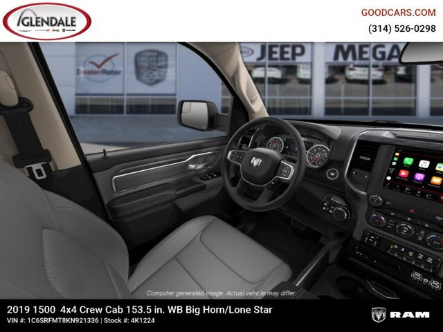 2019 Ram 1500 Crew Cab 4x4,  Pickup #4K1224 - photo 18