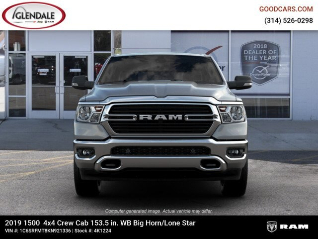 2019 Ram 1500 Crew Cab 4x4,  Pickup #4K1224 - photo 3
