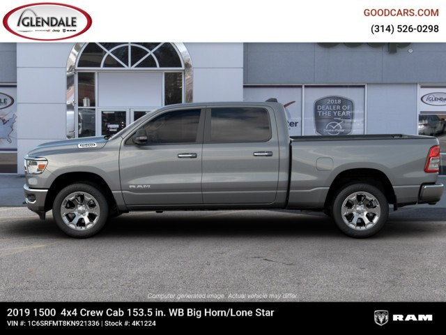 2019 Ram 1500 Crew Cab 4x4,  Pickup #4K1224 - photo 5