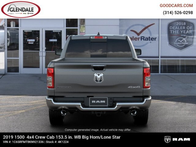 2019 Ram 1500 Crew Cab 4x4,  Pickup #4K1224 - photo 7
