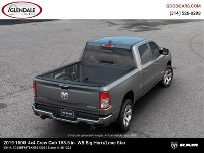 2019 Ram 1500 Crew Cab 4x4,  Pickup #4K1224 - photo 8