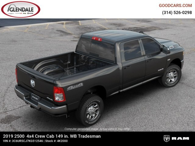 2019 Ram 2500 Crew Cab 4x4,  Pickup #4K2000 - photo 1